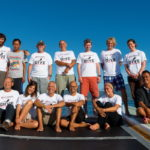 group of divers back from a liveaboard trip to Tubbataha