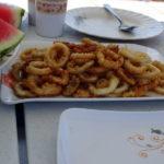 Calamari Snack on Sakura Liveaboard