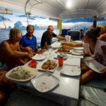 liveaboard dining in Tubbataha reefs