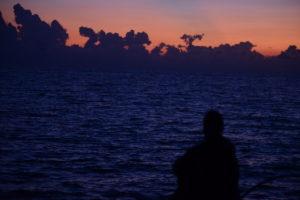 Tubbataha sunset comtemplation