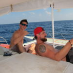 Guests onboard Philippine liveaboard